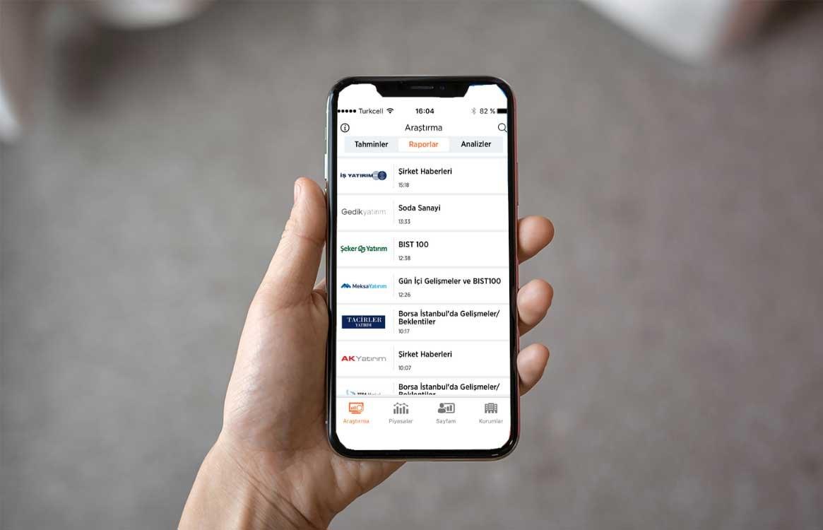 Fixel Mobile Borsa Tahminleri
